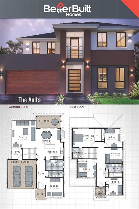 house layout designer the anita double storey house design 313 sq m 12 0m x