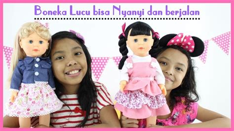 Mainan Boneka Swing Doll mainan anak boneka lucu play with talking walking doll