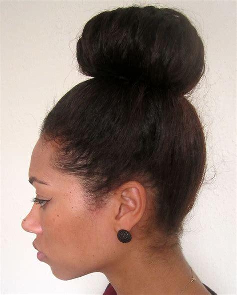 high buns hairstyles images high bun