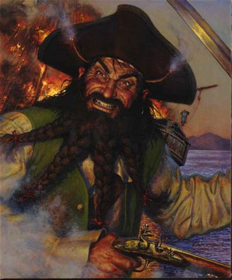 was blackbeard real edward quot blackbeard quot teach anything pirates wiki