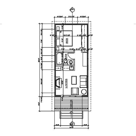 28 pin modern cabin floor plans small modern cabin house plan by freegreen energy simple