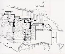 Falling Water Floor Plan by Falling Water Floor Plans 171 Floor Plans