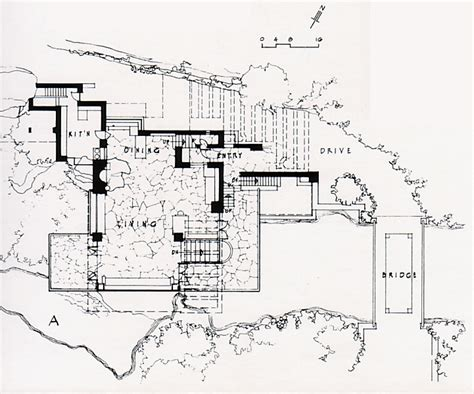 falling water house plan falling water floor plans 171 floor plans