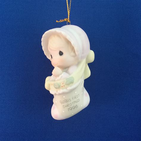 baby s first christmas 1996 girl precious moment ornament