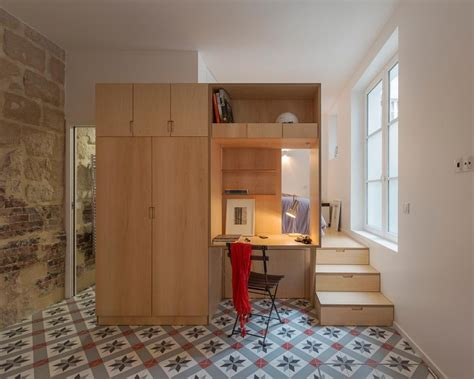 one bedroom efficiency apartments tiny one bedroom studio apartment full of parisian charm