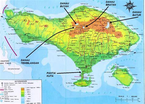 detail bedugul bali location map  travelers guidance