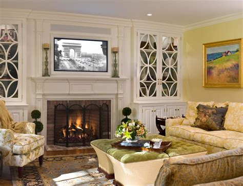 living room built ins with fireplace fireplace built ins living room traditional with all time favorite accessorizing shelves