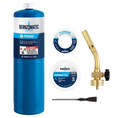 bernzomatic 5 brass pencil plumbing torch kit
