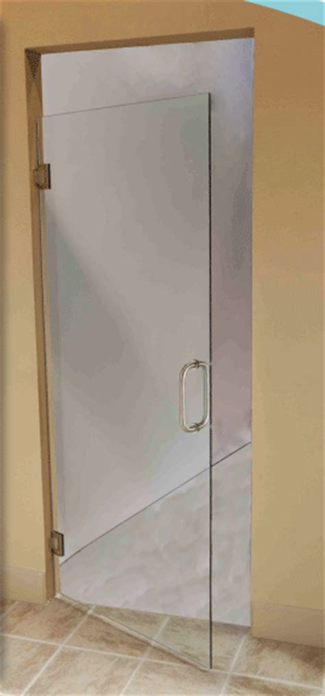 Single Glass Shower Door Single Door Abc Shower Door And Mirror Corporation Serving The Community For 70 Years