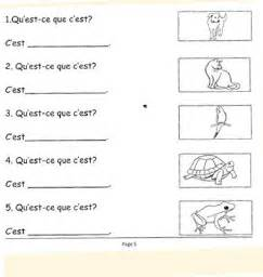 french verb worksheets grade 7 french exercises