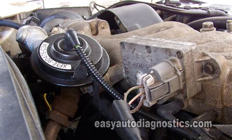 p1401 ford ranger part 1 how to test the ford egr valve egr vacuum solenoid