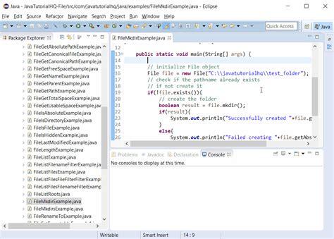 command pattern java simple exle java file mkdir method exle
