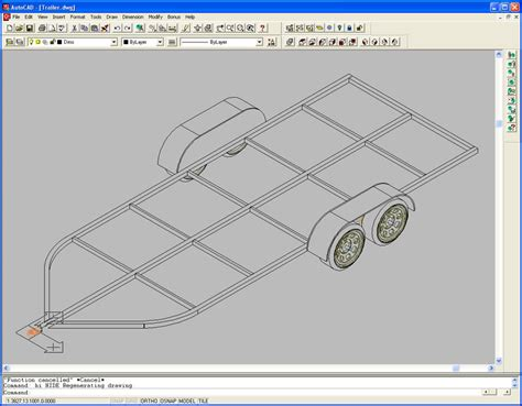 rc boat drawing consent canoe trailer design plans