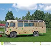 Camping Bus Royalty Free Stock Photo  Image 20550055