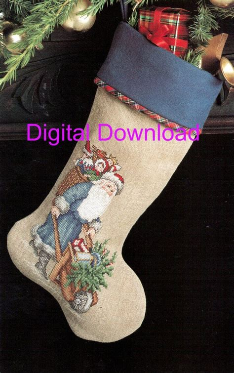 needlepoint patterns for christmas stockings needlepoint christmas stocking pattern santa old world saint