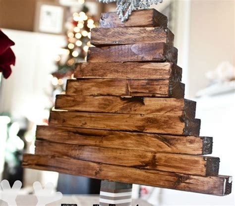easy wood christmas crafts easy craft wooden tree justdestinymag