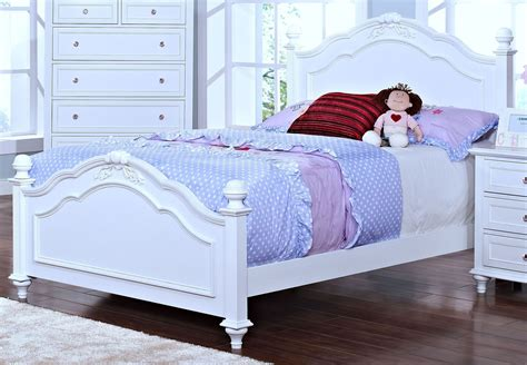 twin poster bed megan youth white twin poster bed from new classics 05
