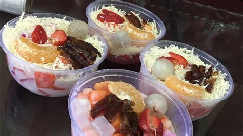 resep  membuat salad buah segar    fruit