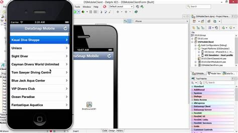 tutorial delphi xe5 android sneak peek of delphi xe5 android datasnap youtube