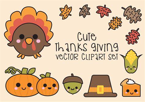 kawaii clipart premium vector clipart kawaii thanksgiving