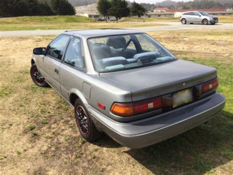 Toyota Corolla Sr5 1990 Buy Used 1990 Toyota Corolla Sr5 Coupe 2 Door 1 6l In San