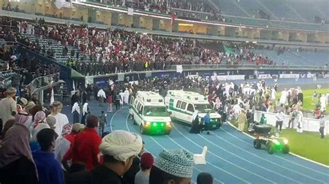 Barier The Football House by Fans Injured After Stadium Barrier Collapses At One News
