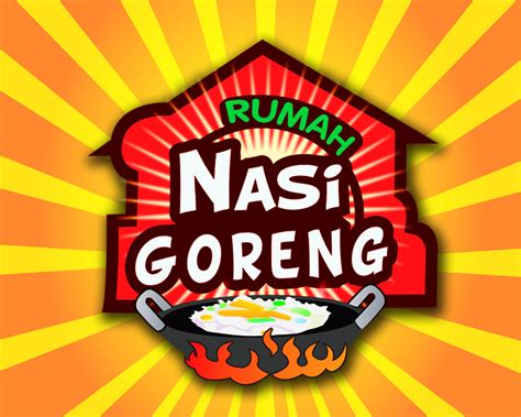 design banner nasi goreng sribu desain logo logo utk rumah makan spesialis nasi gor