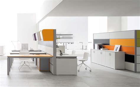contemporary office furniture white modern office desk