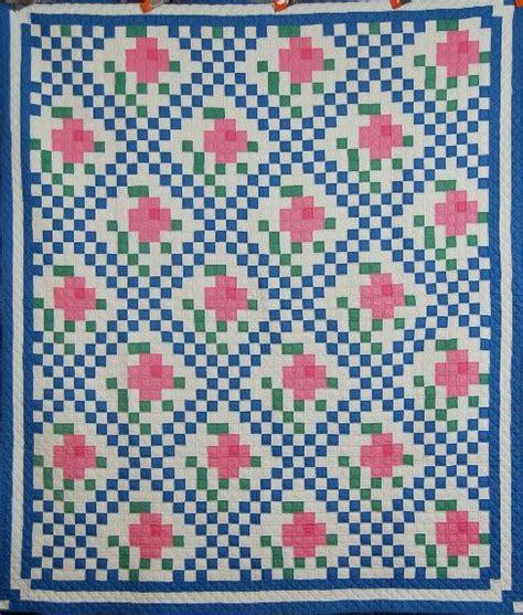 mosaic rose pattern anne orr mosaic rose quilt quilt pinterest