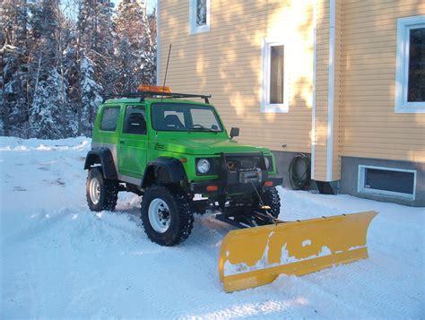 Snow Plow For Suzuki Samurai Another Kadmos 1990 Suzuki Samurai Post 1380085 By Kadmos