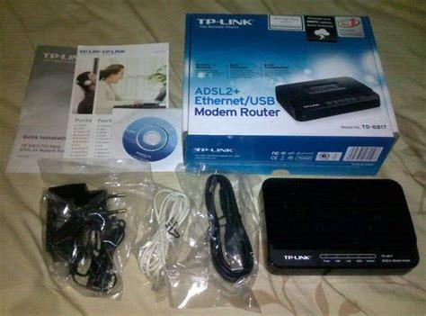 Modem Speedy Tp Link Td 8817 cara memasang modem speedy komunitastkj