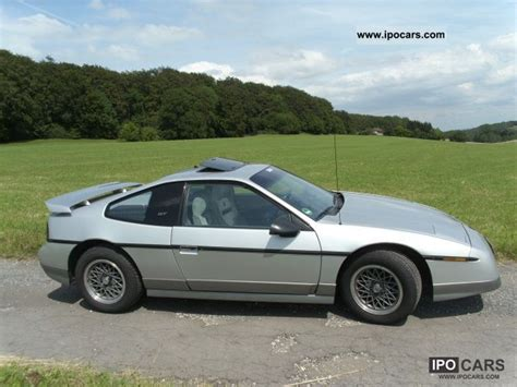 1987 pontiac fiero gt specs 1987 pontiac fiero gt 2 8 2nd attention car photo and
