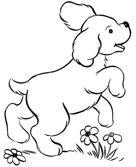 coloring pages of little dogs dog coloring pages for kids printable coloring home