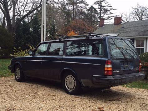 1991 volvo 240 wagon volvo 240 wagon classic volvo 240 1991 for sale