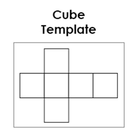 How To Make A 3d Cuboid Out Of Paper - printable paper cube template learn how to make a cube