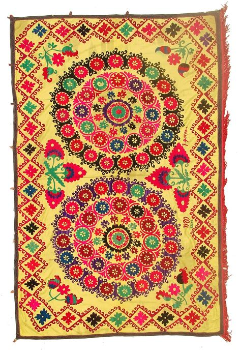 uzbek suzani table runner one kings lane 110 best images about oh suzani on pinterest armchairs