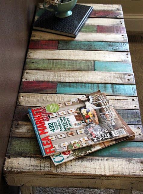 tavoli con bancali per i tavoli con bancali in legno usa materiali di