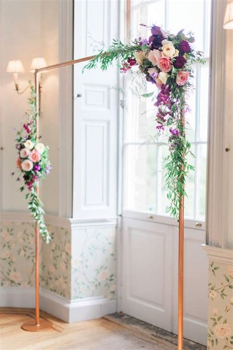 framed flowers on copper sheet craft ideas pinterest floral arches botanical brouhaha