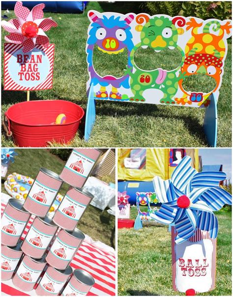 carnival themed games 197 best images about circus themed party on pinterest