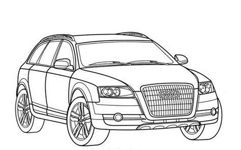 22 Dessins De Coloriage Audi 224 Imprimer Sur Laguerche Com
