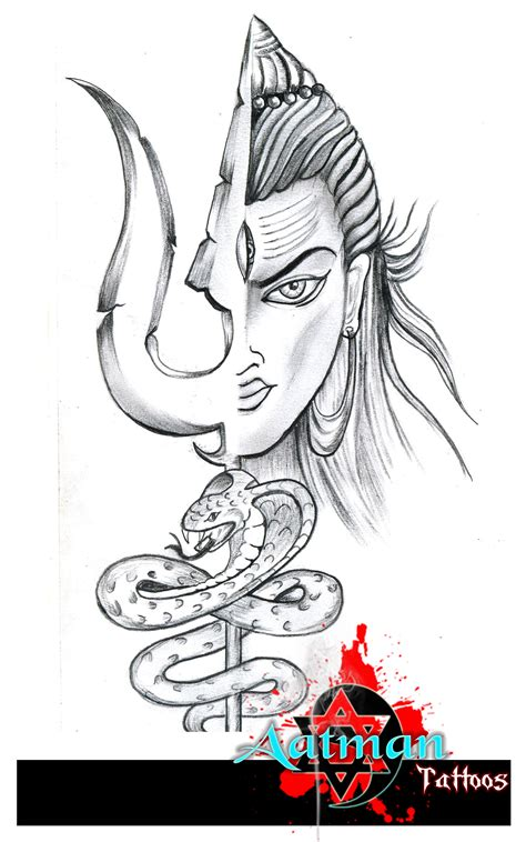 lord shiva custom artwork by bhavith narayan by bhavithb89