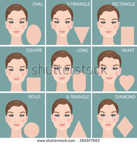 hairstyles based on the shape of head stock images similar to id 101049715 types of women s