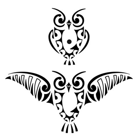 trend tattoo styles tribal owl tattoos