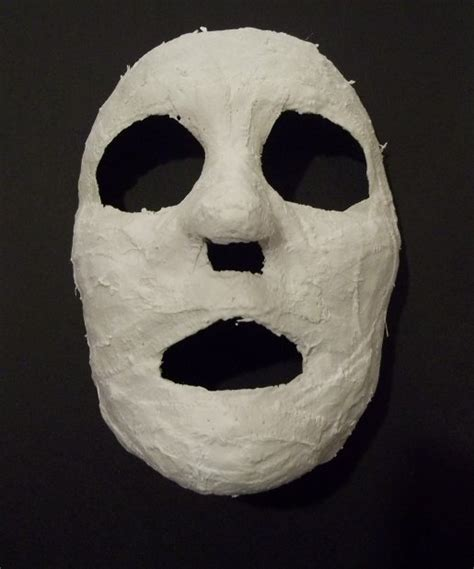How Do You Make A Mask Out Of Paper - things to make and do modroc mask