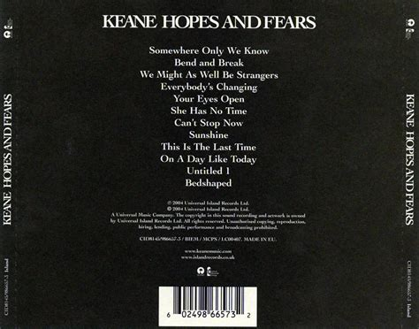 download mp3 full album keane hopes and fears a panic station