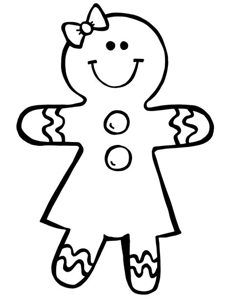coloring page gingerbread boy gingerbread boy and girl coloring pages coloring home
