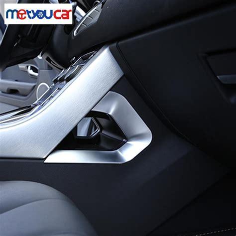 Land Rover Evoque Tank Chrome Garnish for land rover range rover evoque 2016 car accessories