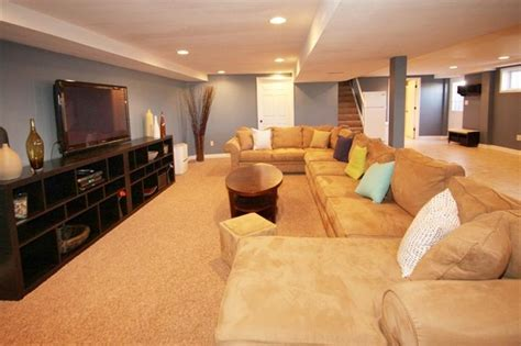 big couch perfect  basement tv room