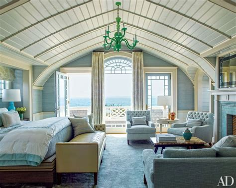 beach style master bedroom long island beach house interiors by color