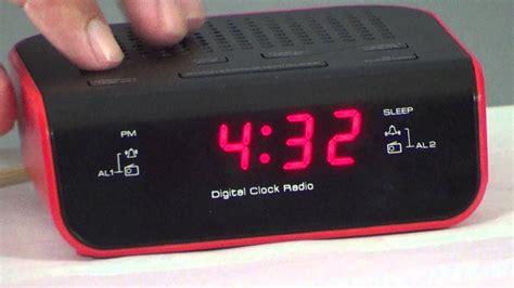 to set iconic alarm clock